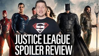JUSTICE LEAGUE Spoiler Review and Discussion