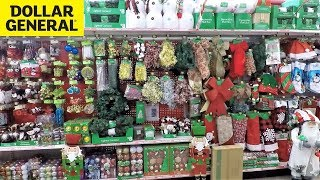 DOLLAR GENERAL CHRISTMAS DECOR AND ITEMS - CHRISTMAS SHOPPING DECORATIONS HOME DECOR