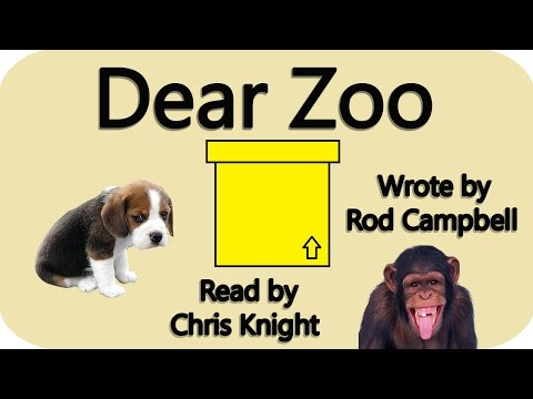 Dear Zoo by Rod Campbell - children's story - bedtime book