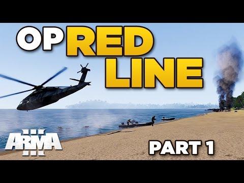 OP RED LINE [Part 1] –ARMA 3 Zeus –Beach Assault