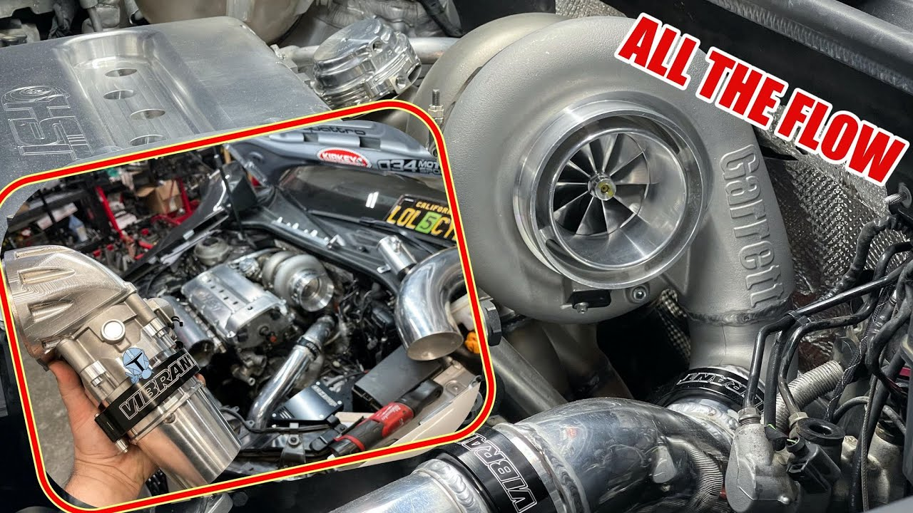 VR6 AUDI RS3 GETS ALL THE FLOW - Intercooler system finished + 82mm Throttle body