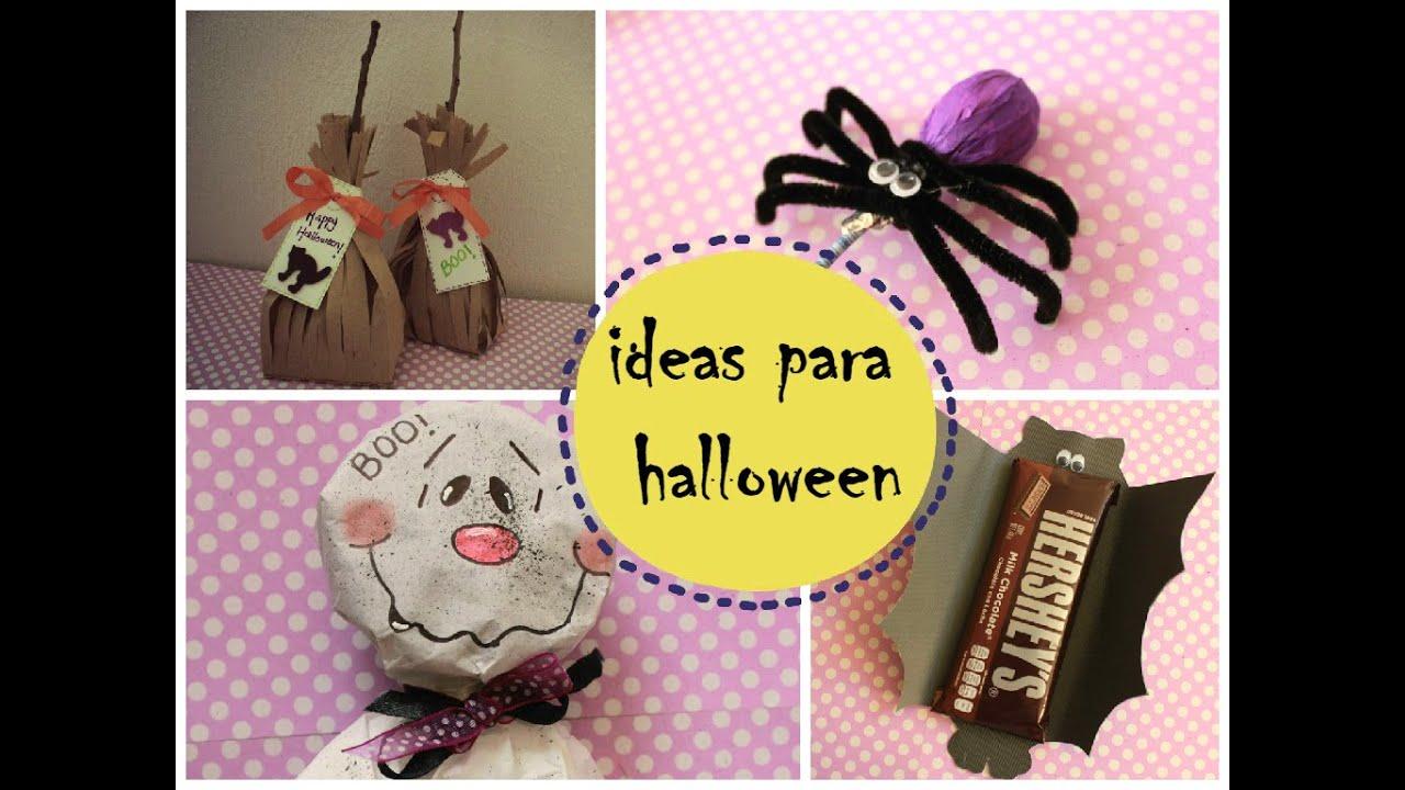 Manualidades para halloween 4 ideas faciles youtube - Manualidades halloween faciles para ninos ...