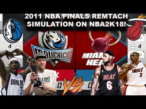 2011 NBA FINALS REMATCH Simulation on NBA2K18!!! Best of 7 Series Sim...