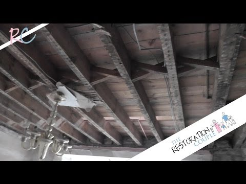removing-an-old-lathe-and-plaster-ceiling