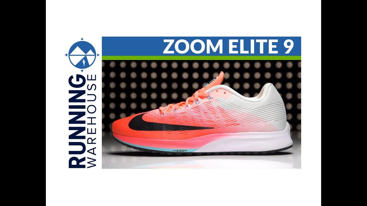 2a078635b60 Nike Zoom Elite 9 for Women - YouTube