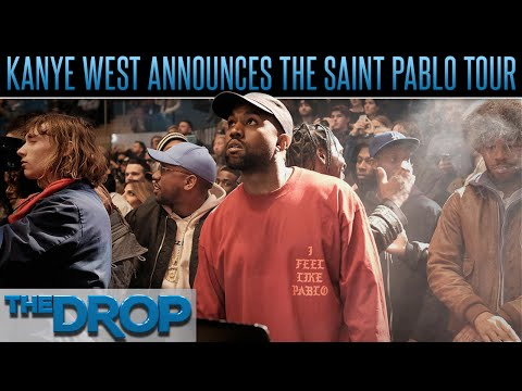 Kanye West Announces The Saint Pablo Tour – The Drop Presented by ADD