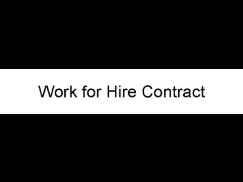 Work for Hire Contract