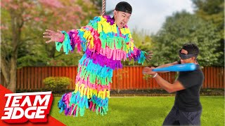 Don't Become the Human Piñata Challenge!!