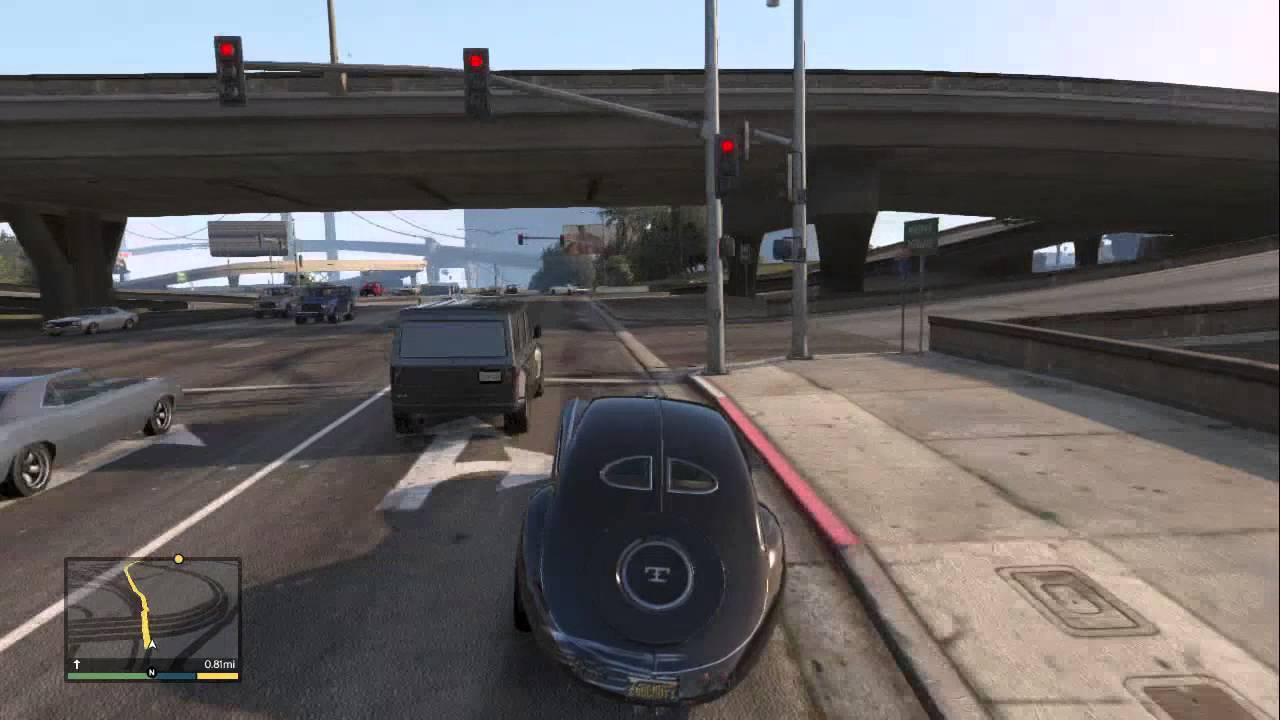 "GTA 5 Secret Vehicles! ""Type Z"" (GTA 5 Secret Car"