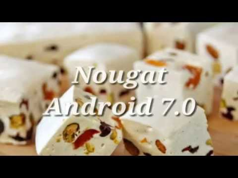 Android Version Names From Cupcake to Nougat