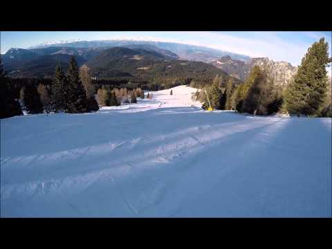 Piste da sci Carezza ski: pista Re Laurino