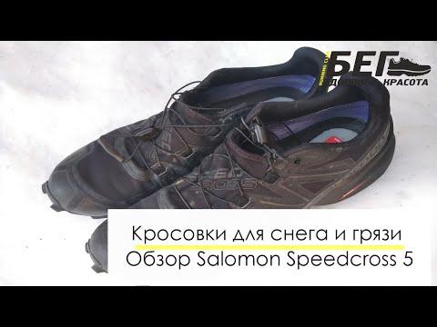 Для снега и грязи. Обзор кроссовок Salomon Speedcross 5 GTX