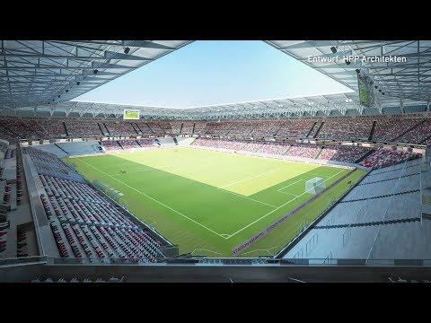 So sieht das neue Fußball-Stadion für den SC Freiburg aus   baden.fm