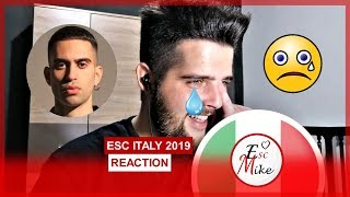 Eurovision 2019 Italy - REACTION [Mahmood - Soldi]