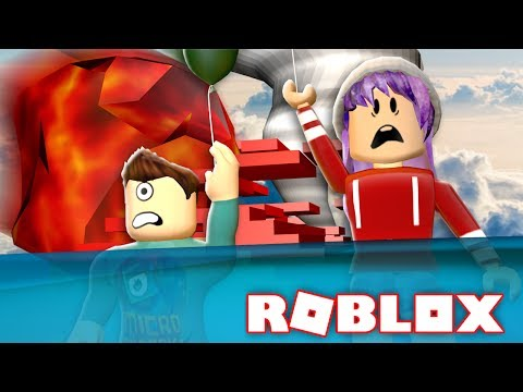 METEOR FLOOD TORNADO IN ROBLOX!!! | Natural Disaster Survival W/ RadioJH Games!
