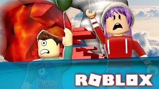 METEOR FLOOD TORNADO EN ROBLOX!!! | Natural Disaster Survival w/ RadioJH Games!