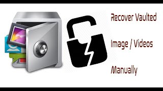 How to recover the photos / Videos in Applock vault in an Android mobile screenshot 3