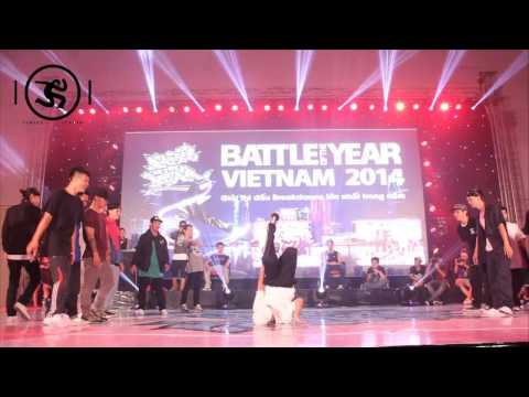 S.I.N.E vs BIG SOUTH | SEMI FINAL | BOTY VIETNAM 2014