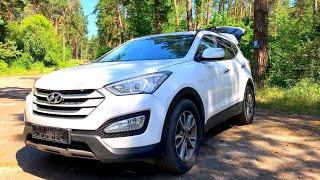 Тест-драйв Hyundai Santa Fe 2015 | Дорестайлинг