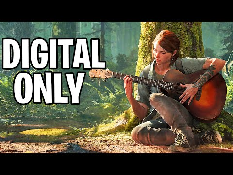 THE LAST OF US 2 - New DIGITAL RELEASE Says Naughty Dog!