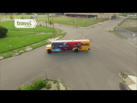The Detroit Bus Company | Celebrity Adventure Club | Travel Channel Asia