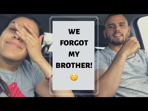 We forgot my brother in New Mexico🤭😓
