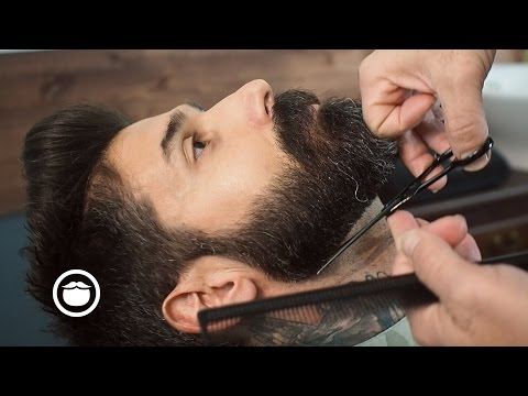 Thumbnail: Barbershop Beard Trim & Wet Shave with Narration | Carlos Costa