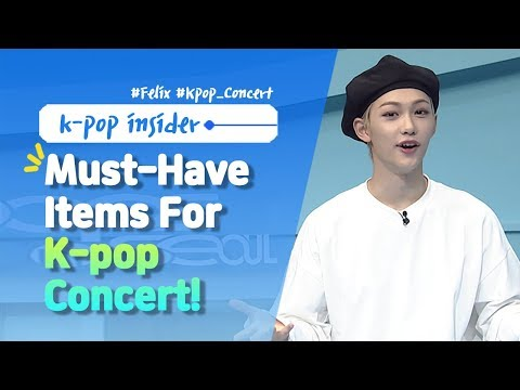 Pops in Seoul Must-Have Items for K-POP CONCERTS  feat Felix