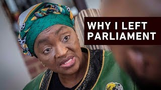EWN's Clement Manyathela sat down for an exclusive interview with Bathabile Dlamini and spoke about why she decided to resign as a member of parliament.