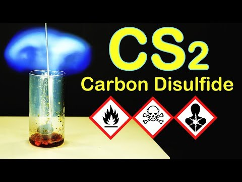 CS2: Carbon Disulfide. Chemical Reactions