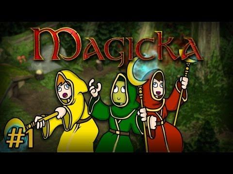 Magicka: Весёлая Магия #1 [ДАВАЙТЕ ИГРАТЬ С МАГИЕЙ]