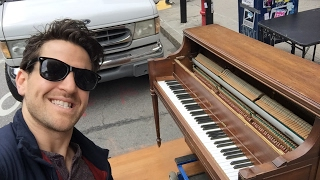 LIVE Piano in the streets of NYC - May 6, 2017