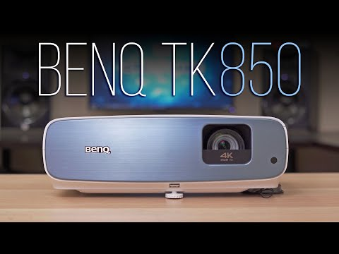BenQ TK850 Review - A Great Living Room 4K Projector