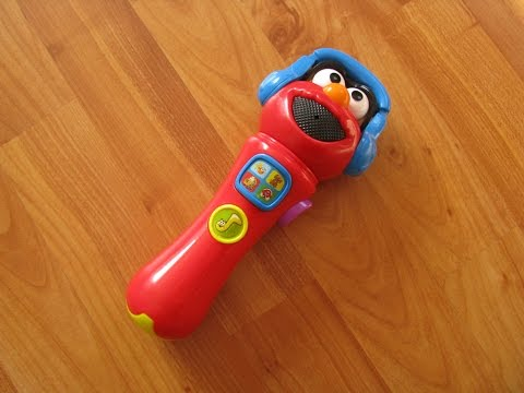 Sesame Street Elmo Sing & Giggle Microphone Interactive Toy