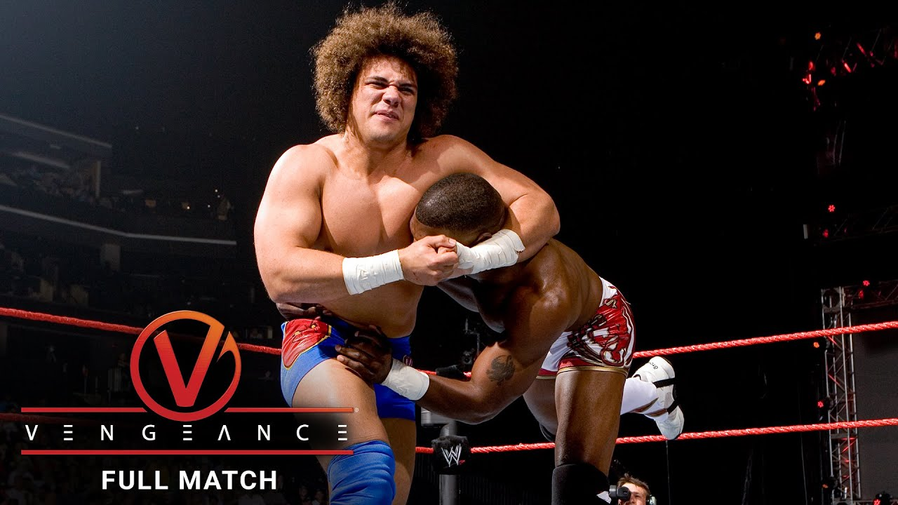 FULL MATCH - Benjamin vs. Carlito vs. Nitro - Intercontinental Title Match: Vengeance 2006