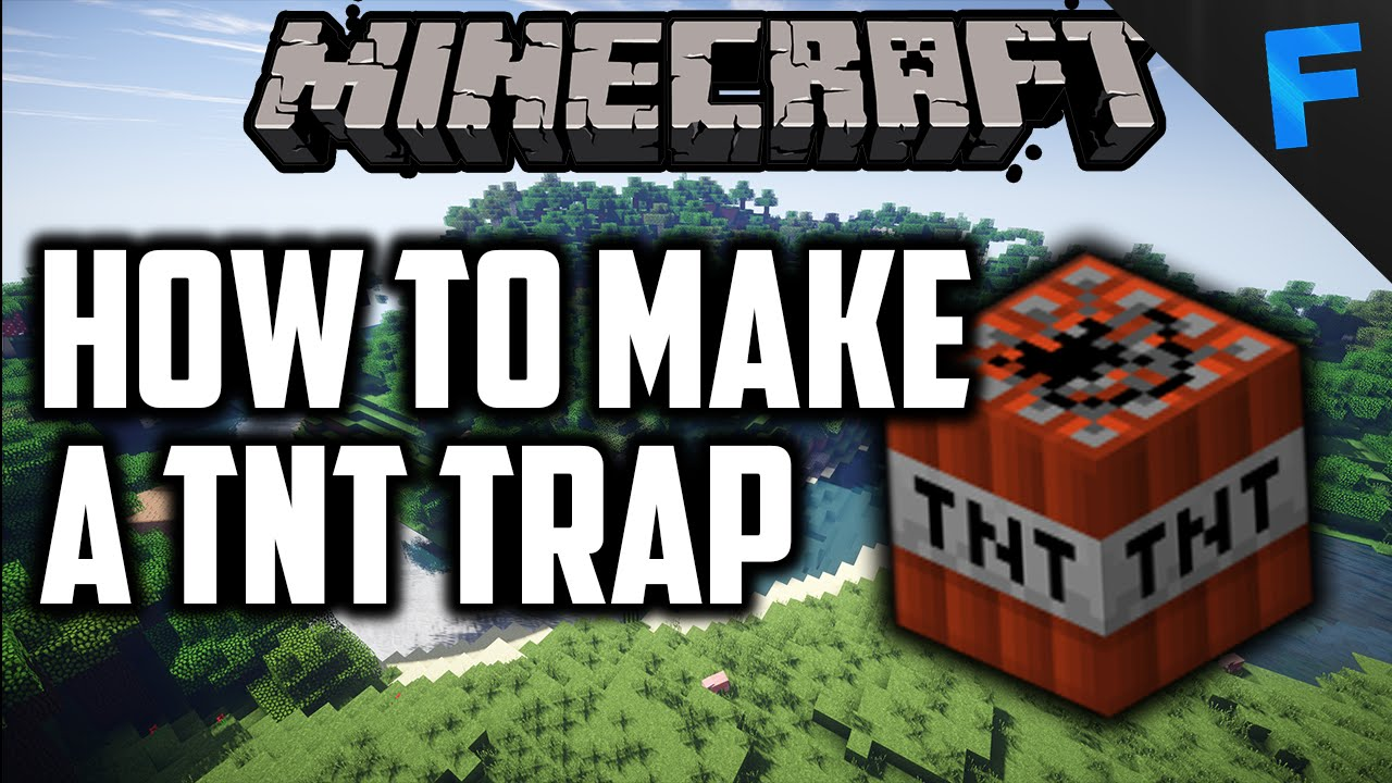 how to build a trap in minecraft pe