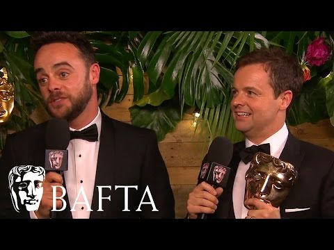 Ant And Dec's Saturday Night Takeaway - Backstage Interview | BAFTA TV Awards 2017