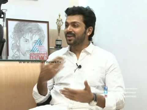 Karthi (Karthik Sivakumar), Tamil actor, in a candid interview, Part 1 (Onam Special 2012)