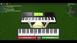 Piano/Keyboard Twinkle Twinkle Little Star (Roblox, notes in desc)!!