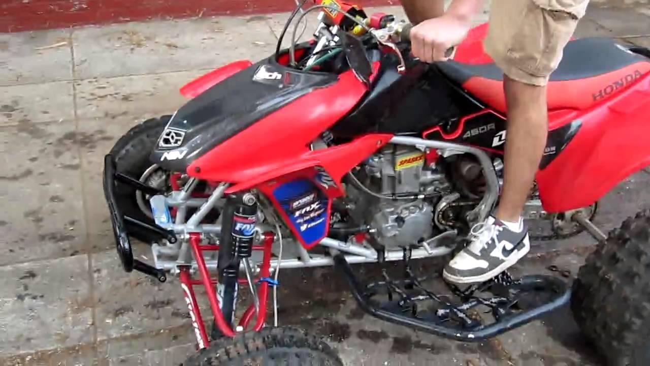 2005 Honda Trx450r >> 2005 Honda TRX 450r - YouTube