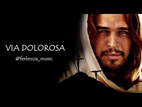Via Dolorosa Piano Cover With Lyrics (Piano Karaoke)