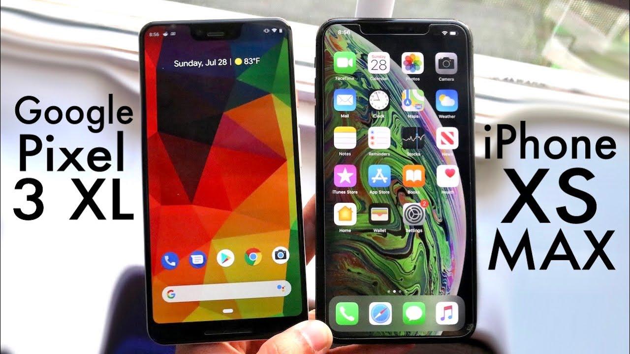 iPhone XS Max Vs Google Pixel 3 XL! (Comparison) (Review)