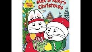 Max & Ruby Noel 2004 DVD açılıyor