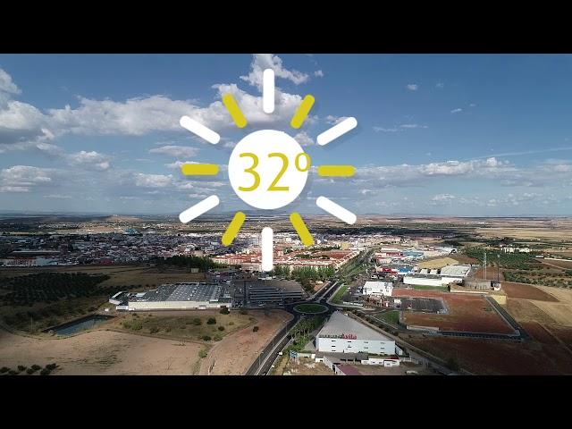 RTV LA SERENA #El Tiempo en Villanueva de la Serena 19 de septiembre.