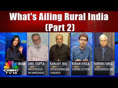 What's Ailing Rural India (Part 2)   Alleviating The Agri Pain   CNBC TV18