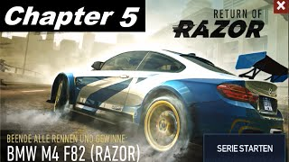 Need For Speed No Limits - Return Of Razor BMW M4 F82 - Final Chapter 5 FULL  [HD]