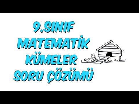9.Sınıf Matematik   Kümeler Soru Çözümü