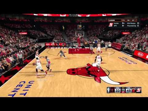 Javale McGee with the put back jam vs Rockets #NBA 2K16 #ABA