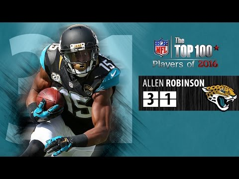 #31: Allen Robinson (WR, Jaguars) | Top 100 NFL Players of 2016