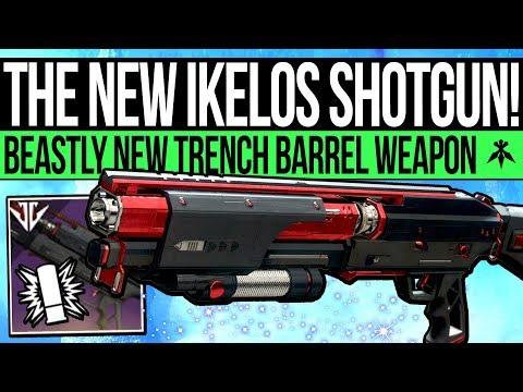 Destiny 2 | THE NEW IKELOS SHOTGUN! Threat Level, Year 2 Trench Barrel Shotgun & Easiest Raid Weapon